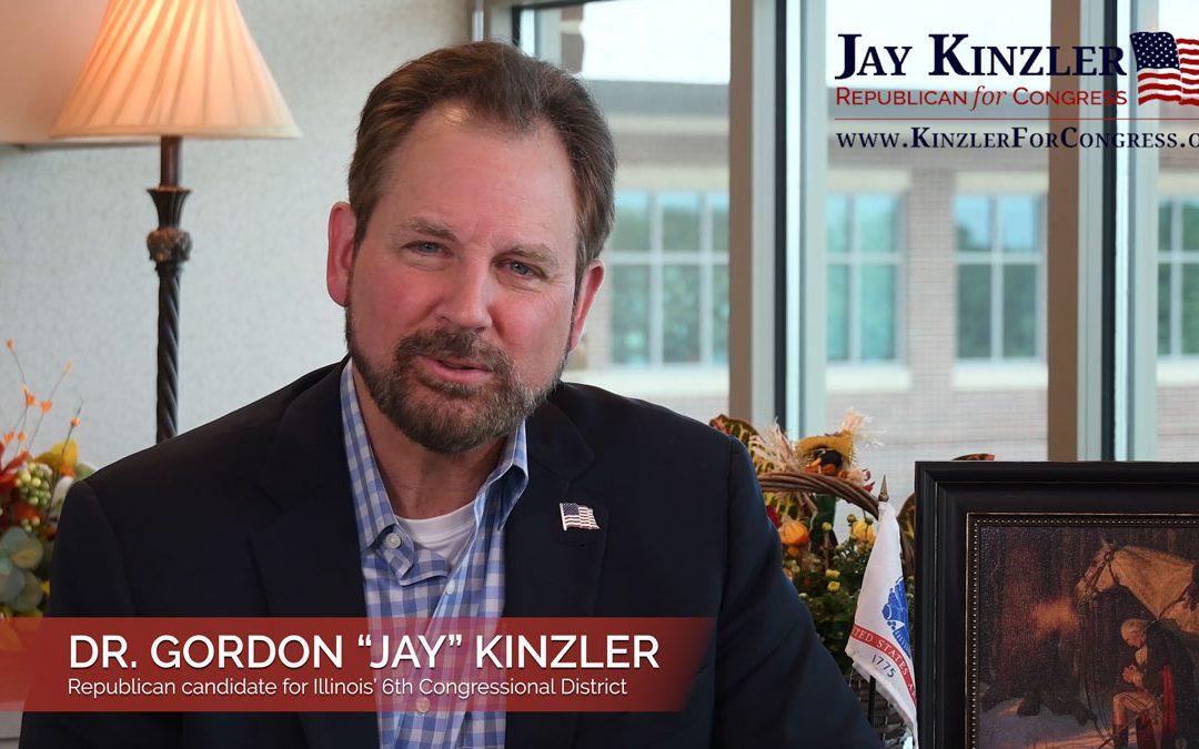 """Dr. Gordon """"Jay"""" Kinzler announces candidacy for Congress"""